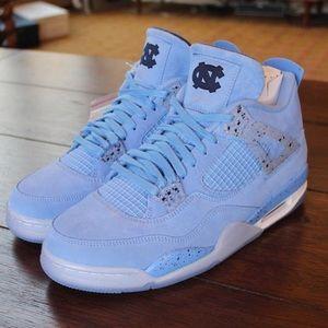 Jordan 4 North Carolina